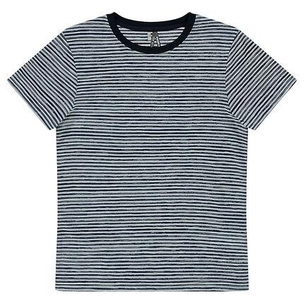 Παιδικά - Κοντομάνικη μπλούζα με ρίγες