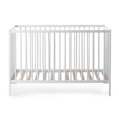 Ξύλινο κρεβάτι pocket 60x120cm - Λευκό , Prémaman
