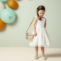 Γιορτινό  φόρεμα με δαντέλα και τούλι , Pomme Framboise