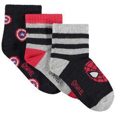 Σετ 3 ζευγάρια κάλτσες Marvel