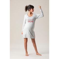 Μακρυμάνικο νυχτικό εγκυμοσύνης και θηλασμού Wonder Woman