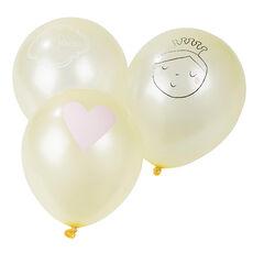 Σετ 10 μπαλόνια γενεθλίων με σχέδιο πριγκίπισσα
