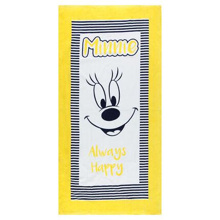 Πετσέτα θαλάσσης με στάμπα Minnie της ©Disney