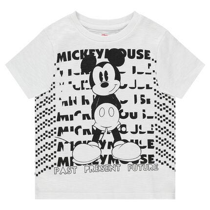 Κοντομάνικη ζέρσεϊ μπλούζα ©Disney με στάμπα Μίκυ