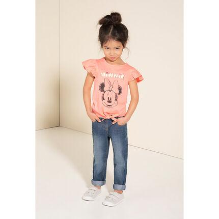 Μακρυμάνικη μπλούζα με μαγικές πούλιες με στάμπα τη Μίνι της ©Disney