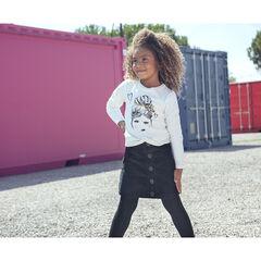 T-shirt μακρυμάνικο noué για κορίτσι , Orchestra
