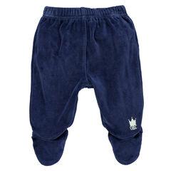Βελούδινο παντελόνι με πόδια