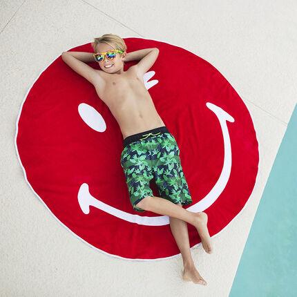Πετσέτα θαλάσσης στρογγυλή ©Smiley