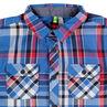 Μακρυμάνικο πουκάμισο με μεγάλα καρό σε αντίθεση
