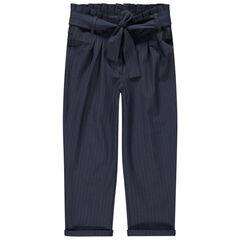 Παντελόνι με μπατζάκια που στενεύουν στη βάση και κορδόνια