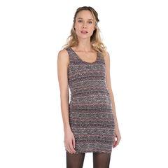 Αμάνικο φόρεμα εγκυμοσύνης σε ζακάρ