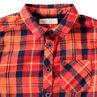 Μακρυμάνικο καρό πουκάμισο από φανέλα