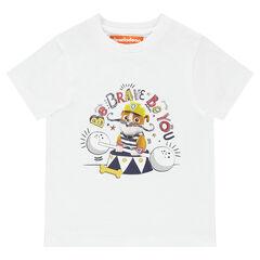 Κοντομάνικη μονόχρωμη μπλούζα με στάμπα τον Ruben της ομάδας Paw Patrol από την Nickelodeon™
