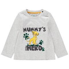 Μακρυμάνικη ζέρσεϊ μπλούζα με στάμπα τον Σίμπα από τον Βασιλιά των Λιονταριών της Disney