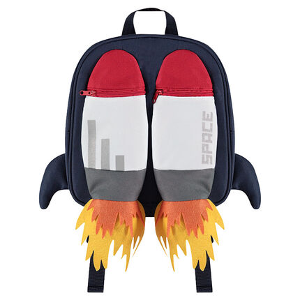 Τσάντα κολατσιού με τσέπες και φερμουάρ
