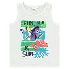 Αμάνικο μπλουζάκι από ζέρσεϊ slub ύφασμα με τον Νέμο της Disney
