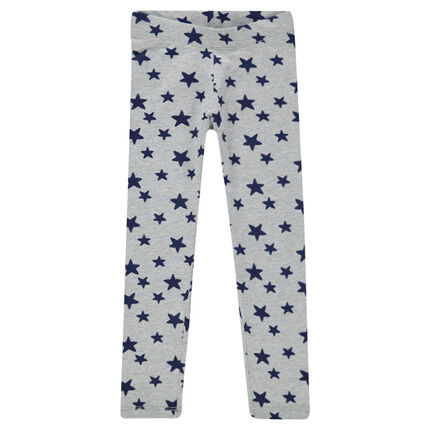 Junior - Legging long imprimé fantaisie