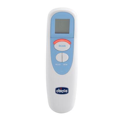 Thermomètre infrarouge à distance multifonction - Bleu/Blanc