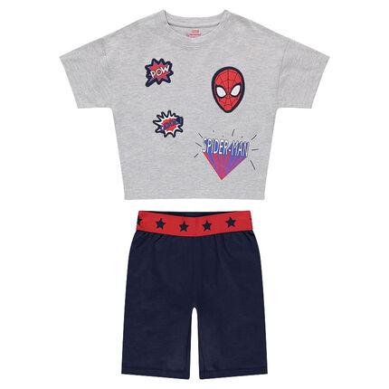 Πιτζάμα από ζέρσεϊ με σήματα Spiderman της ©Marvel