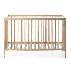Kρεβάτι ξύλινο POCKET 60x120cm - Βερνίκι οξιά  , Prémaman