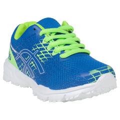 Αθλητικά παπούτσια από δίχτυ με γεωμετρικό μοτίβο σε αντίθεση