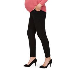 Παντελόνι εγκυμοσύνης σε γραμμή slim με φαρδιά φάσα ψηλά στη μέση