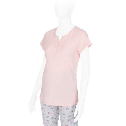 Κοντομάνικη μπλούζα θηλασμού για το σπίτι