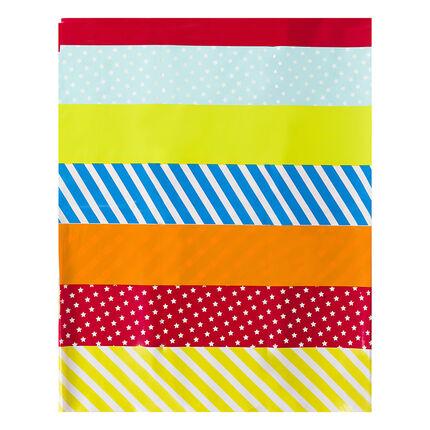 Τραπεζομάντιλο με χρωματιστό μοτίβο με δράκο 110 x 180 εκ.