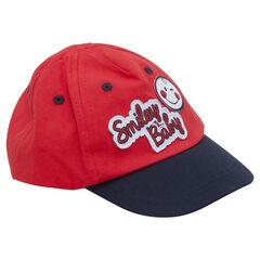 Δίχρωμο καπέλο από τουίλ με μπαλώματα ©Smiley