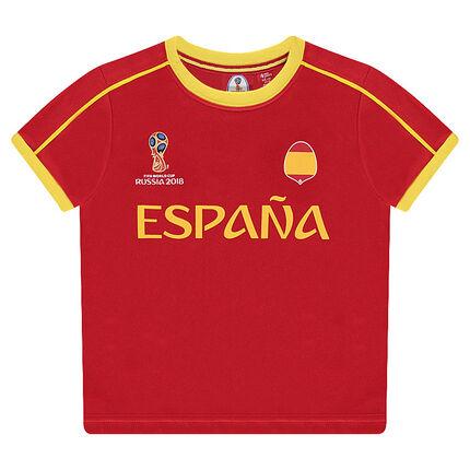 Κοντομάνικη μπλούζα με στάμπα ESPAÑA - 2018 FIFA WORLD CUP RUSSIA™