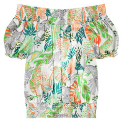 Παιδικά - Μπλουζάκι με χαβανέζικο μοτίβο