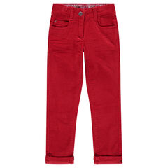 Βελούδινο παντελόνι σε τσαλακωμένο στυλ