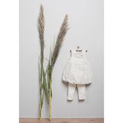 Σετάκι γέννησης φόρεμα και κολάν σε οργανικό βαμβακερό