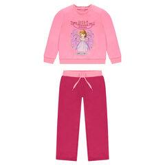 Σύνολο φόρμας από ροζ φανέλα με την Πριγκίπισσα Σοφία της Disney