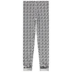 Παντελόνι-κολάν από ζέρσεϊ με διακοσμητικό μοτίβο σε όλη την επιφάνεια