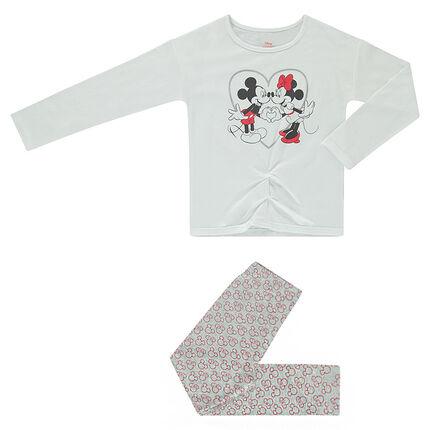 e48e1b43bbb Πιτζάμα ζέρσεϊ με στάμπα Mickey και Minnie της ©Disney - Orchestra GR