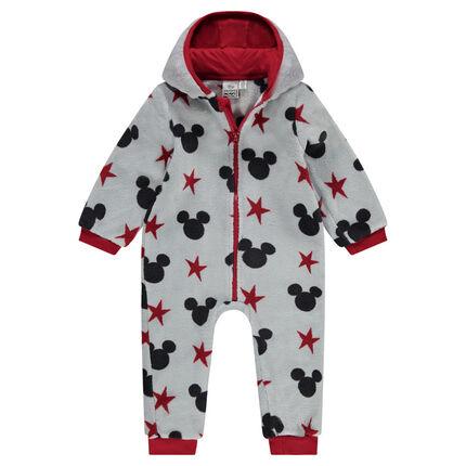 Φορμάκι-υπνόσακος Mickey της Disney από sherpa, με κουκούλα και ραμμένα αυτάκια