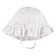 Πουά καπέλο με φιόγκο