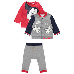 Ensemble t-shirt, gilet et pantalon motif Mickey Disney , Orchestra