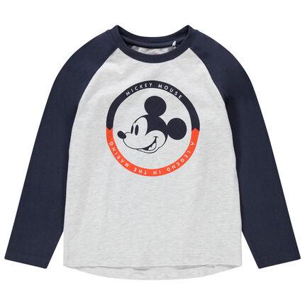 Μακρυμάνικη μπλούζα με στάμπα Μίκυ της Disney
