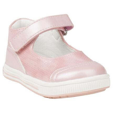 Babies roses irisées effet sequins