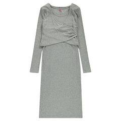 Παιδικά - Σύνολο μακρύ φόρεμα και μπολερό