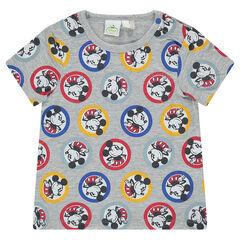 Κοντομάνικη μπλούζα Disney με μοτίβο Μίκυ σε όλη την επιφάνεια