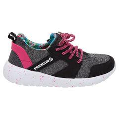Χαμηλά αθλητικά παπούτσια με κορδόνια και φάσες σε αντίθεση FREEGUN