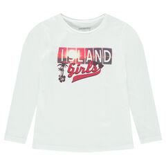 Παιδικά - Μακρυμάνικη μπλούζα με φαντεζί τύπωμα