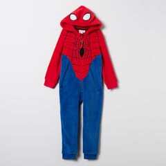 Surpyjama en sherpa Spiderman