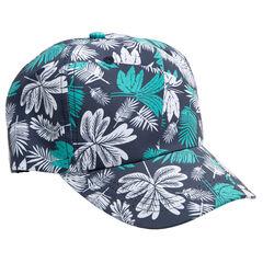 Καπέλο από βαμβάκι με εμπριμέ φλοράλ μοτίβο σε όλη την επιφάνεια