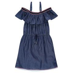 daf8f9246f49 Παιδικά - Φόρεμα από σαμπρέ ...