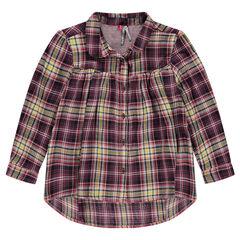 Φαρδύ καρό πουκάμισο