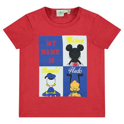 Κοντομάνικη μπλούζα με τύπωμα ήρωες της Disney